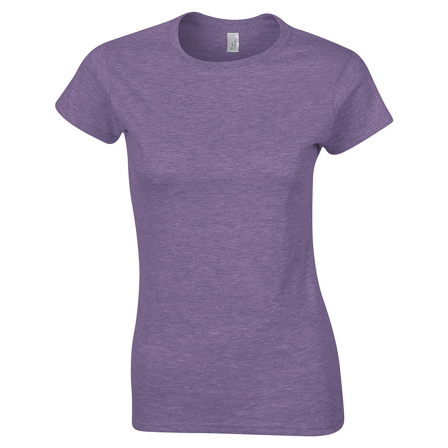 Product image of Heather Purple Gildan 64000L - Ladies' Softstyle® T-Shirt