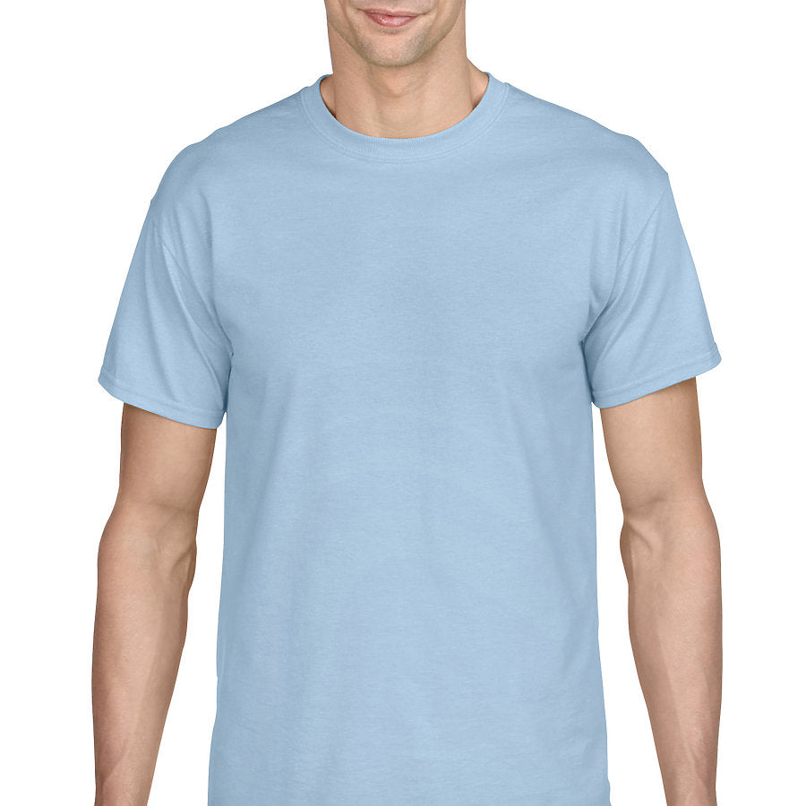Product image of Light Blue Gildan 8000 - Adult DryBlend® T-Shirt