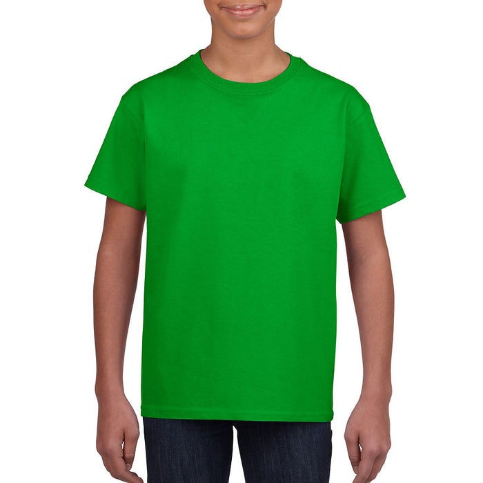 Product image of Electric Green Gildan 8000B - Youth DryBlend T-Shirt