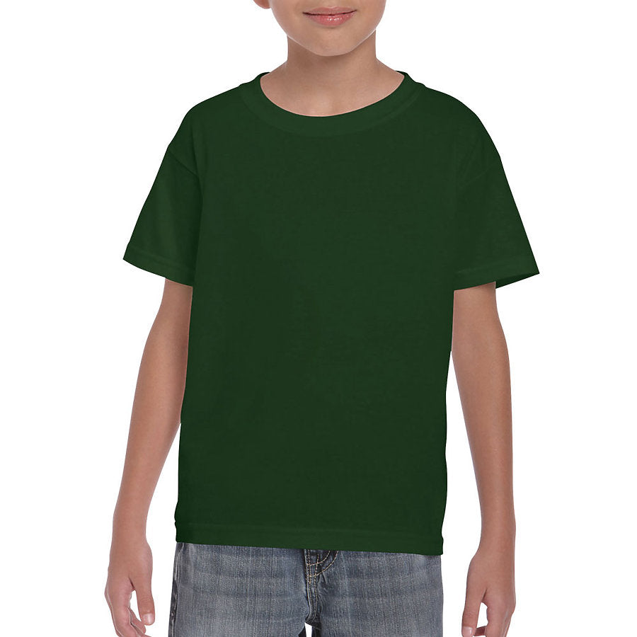 Product image of Forest Green Gildan 8000B - Youth DryBlend® T-Shirt