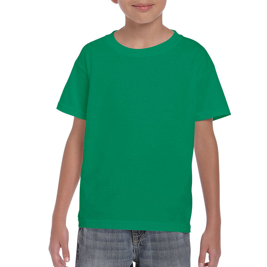 Product image of Kelly Green Gildan 8000B - Youth DryBlend® T-Shirt