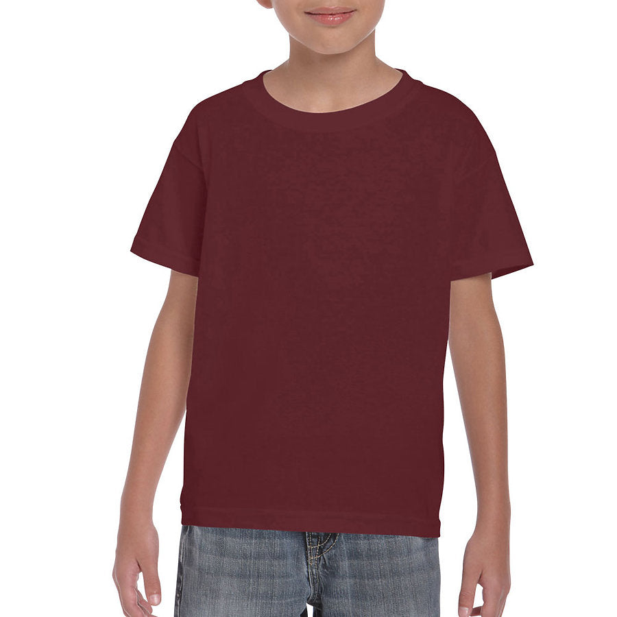 Product image of Maroon Gildan 8000B - Youth DryBlend® T-Shirt