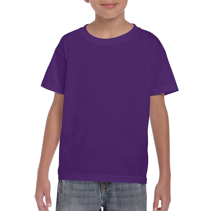 Product image of Purple Gildan 8000B - Youth DryBlend® T-Shirt
