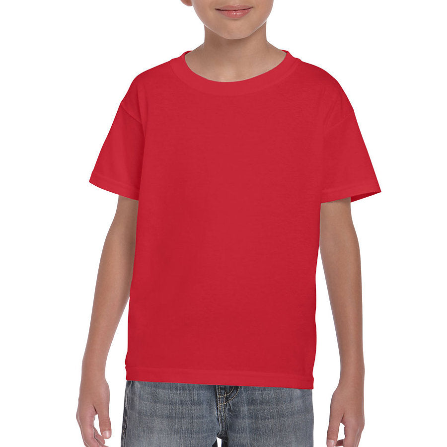 Product image of Red Gildan 8000B - Youth DryBlend® T-Shirt