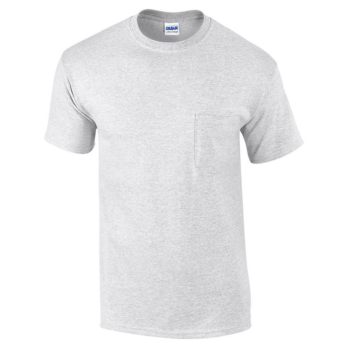 Product image of Ash Grey Gildan 2300 - Adult Ultra Cotton T-Shirt with Pocket