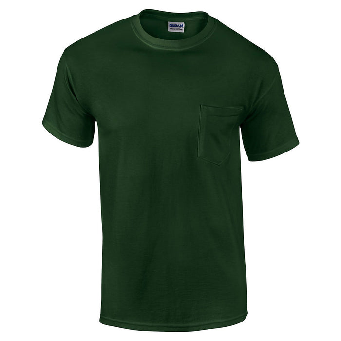 Product image of Forest Green Gildan 2300 - Adult Ultra Cotton T-Shirt with Pocket