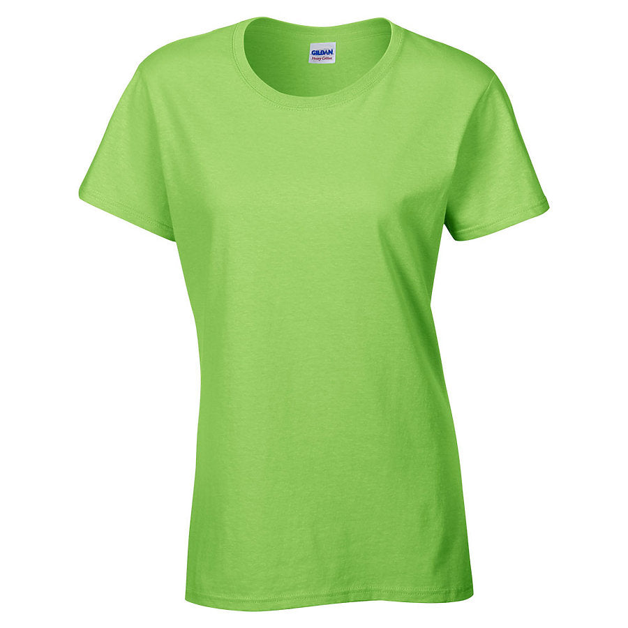 Product image of Lime Gildan 5000L - Ladies' Heavy Cotton T-Shirt