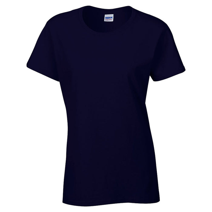 Product image of Navy Gildan 5000L - Ladies' Heavy Cotton T-Shirt