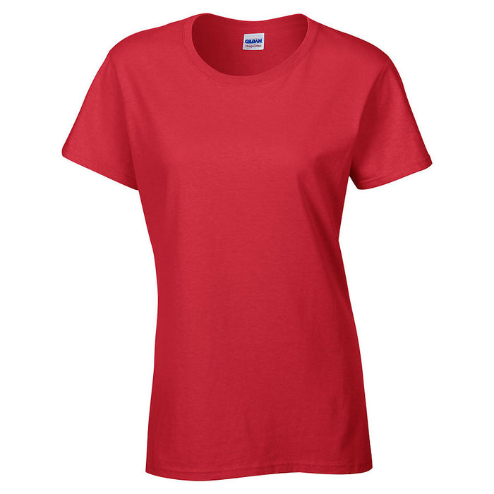 Product image of Red Gildan 5000L - Ladies' Heavy Cotton T-Shirt
