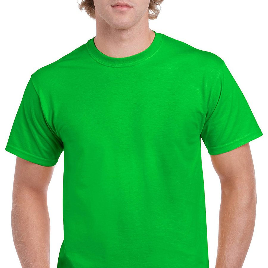 Product image of Electric Green Gildan 5000 - Adult Heavy Cotton T-Shirt