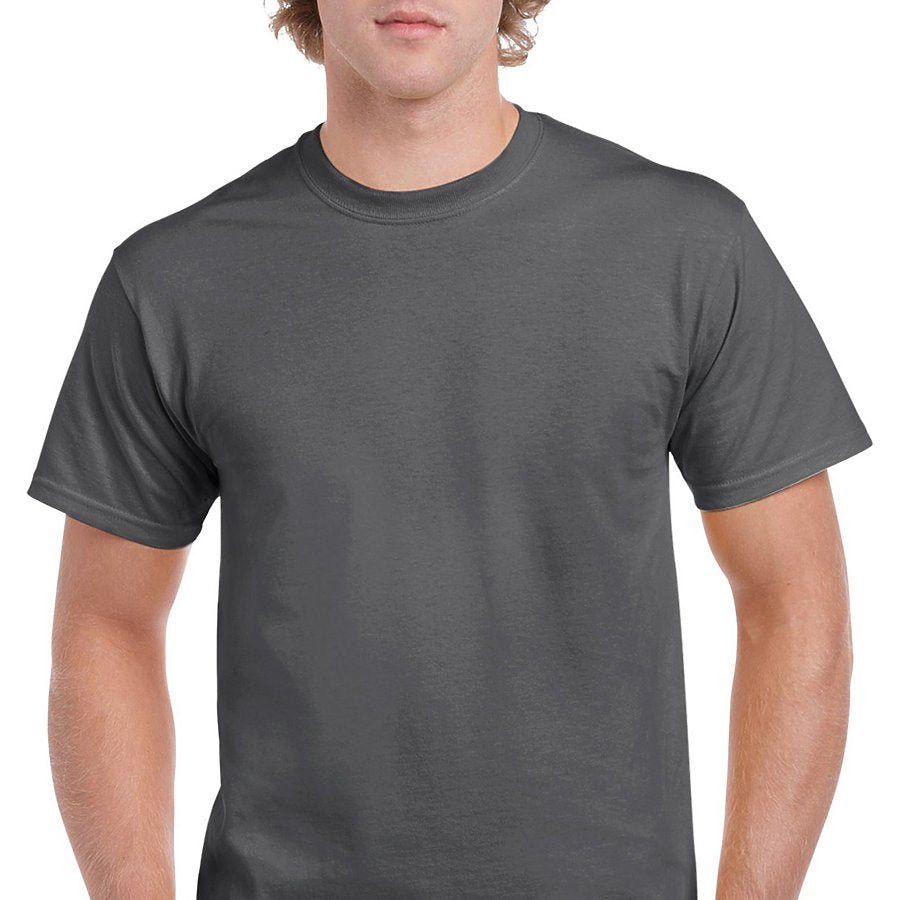 Product image of Dark Heather Gildan 5000 - Adult Heavy Cotton T-Shirt