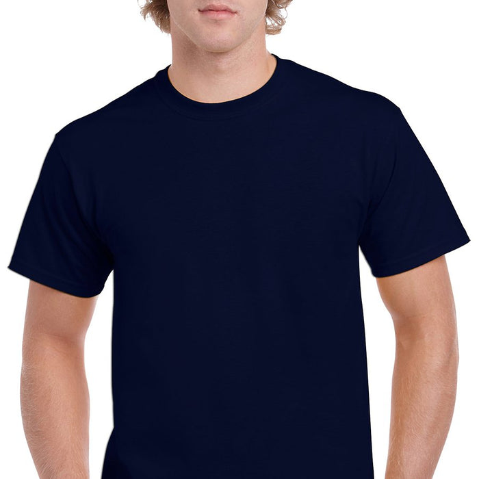 Product image of Navy Gildan 5000 - Adult Heavy Cotton T-Shirt
