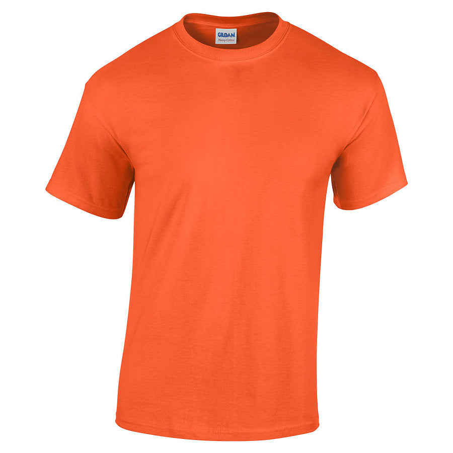 Product image of Orange Gildan 5000 - Adult Heavy Cotton T-Shirt