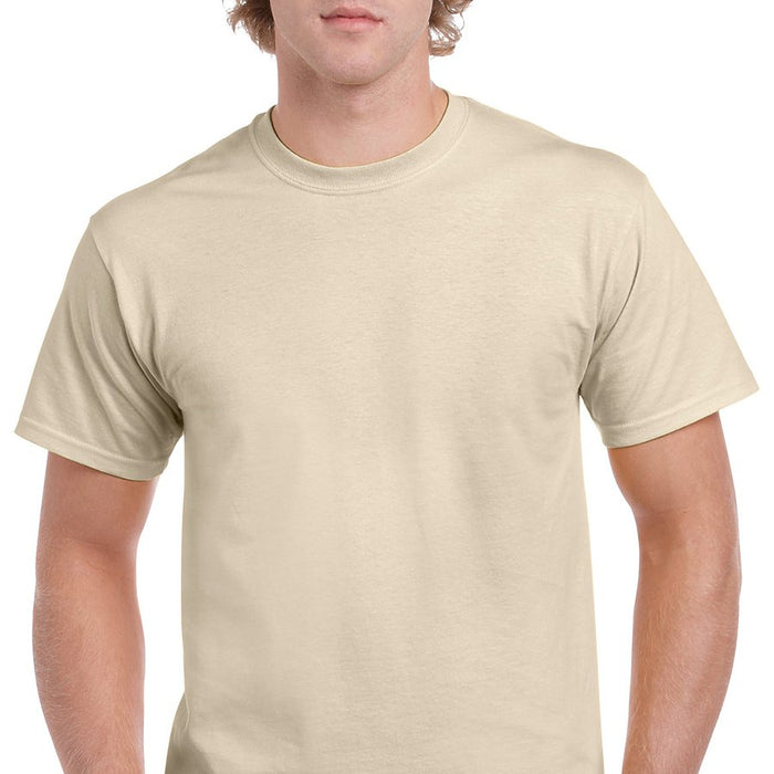 Product image of Sand Gildan 5000 - Adult Heavy Cotton T-Shirt
