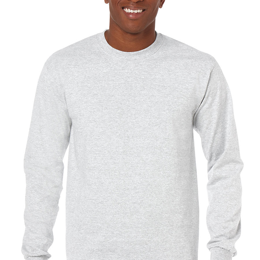 Product image of Ash Grey Gildan 5400 - Adult Heavy Cotton Long Sleeve T-Shirt