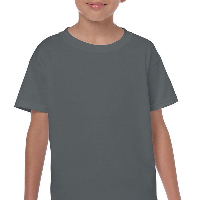 Product image of Charcoal Gildan 5000B - Youth Cotton T-Shirt