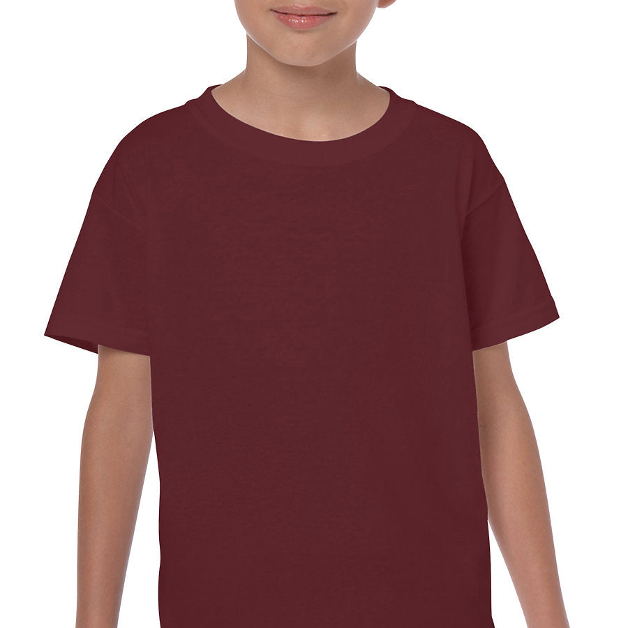 Product image of Maroon Gildan 5000B - Youth Cotton T-Shirt