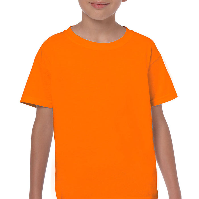 Product image of S Orange Gildan 5000B - Youth Cotton T-Shirt