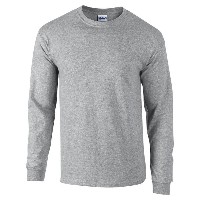 Product image of Sport Grey Gildan 2400 - Adult Ultra Cotton® Long Sleeve T-Shirt