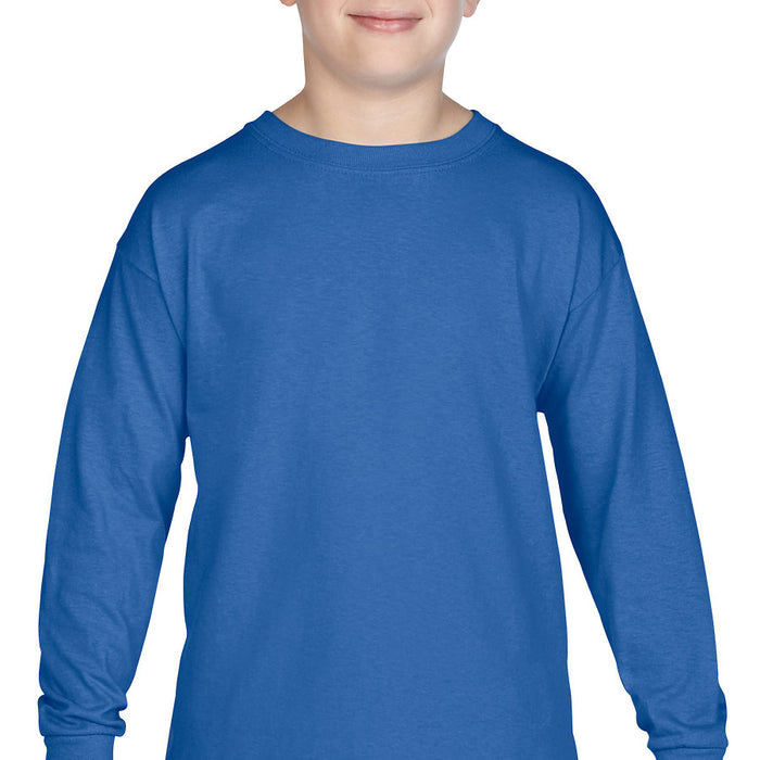 Product image of Royal Gildan 5400B - Heavy Cotton Youth Long Sleeve T-Shirt