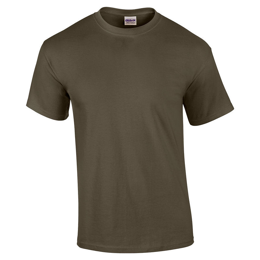 Product image of Olive Gildan 2000 - Adult Ultra Cotton® T-Shirt