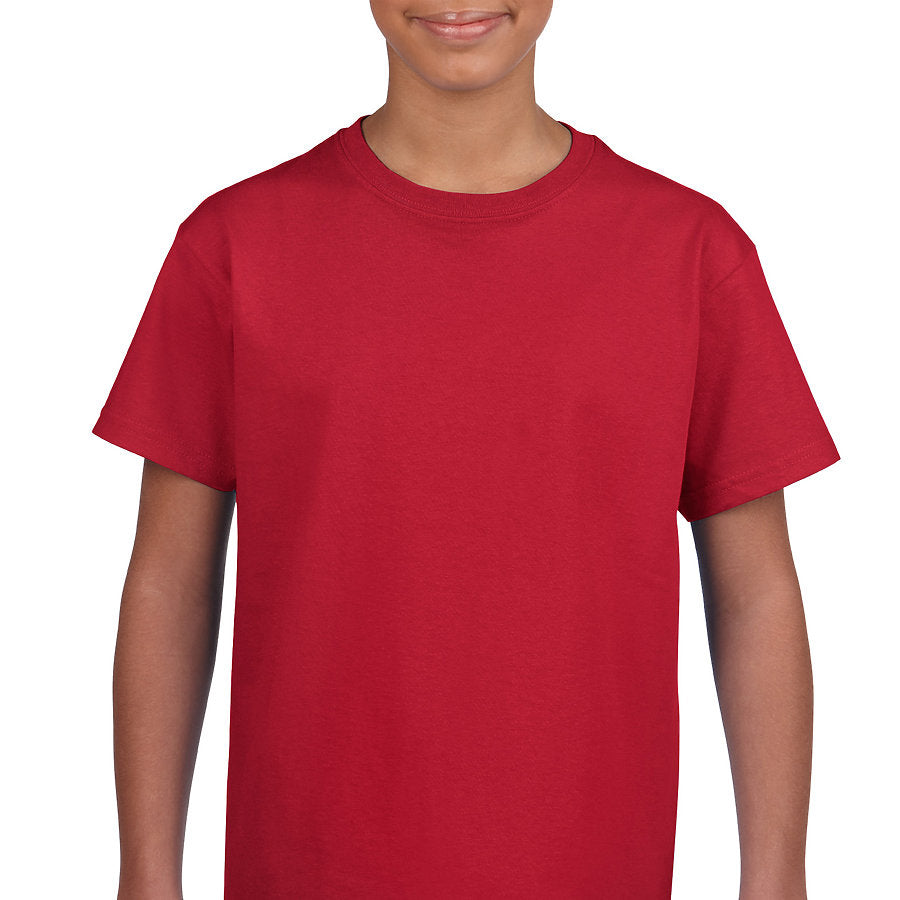 Product image of Cherry Red Gildan 2000B - Youth Ultra Cotton® T-Shirt