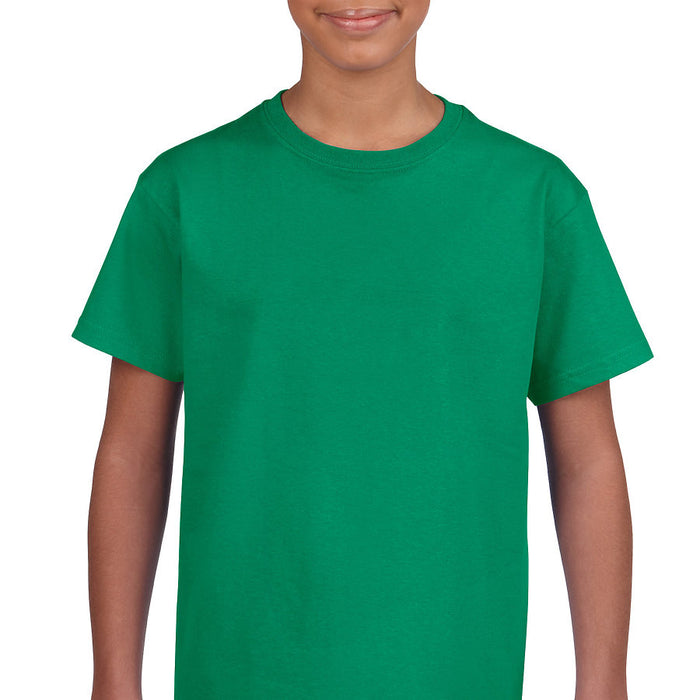 Product image of Kelly Green Gildan 2000B - Youth Ultra Cotton® T-Shirt