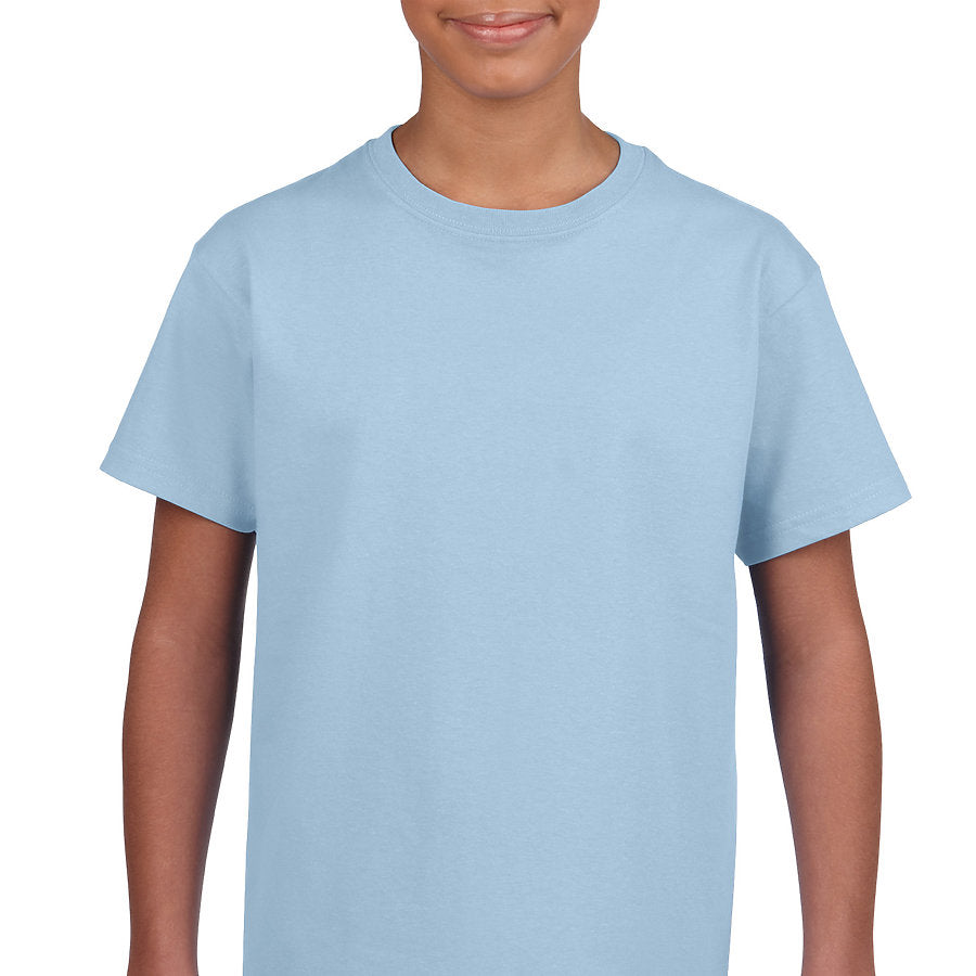 Product image of Light Blue Gildan 2000B - Youth Ultra Cotton® T-Shirt