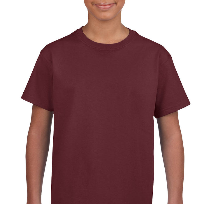 Product image of Maroon Gildan 2000B - Youth Ultra Cotton® T-Shirt