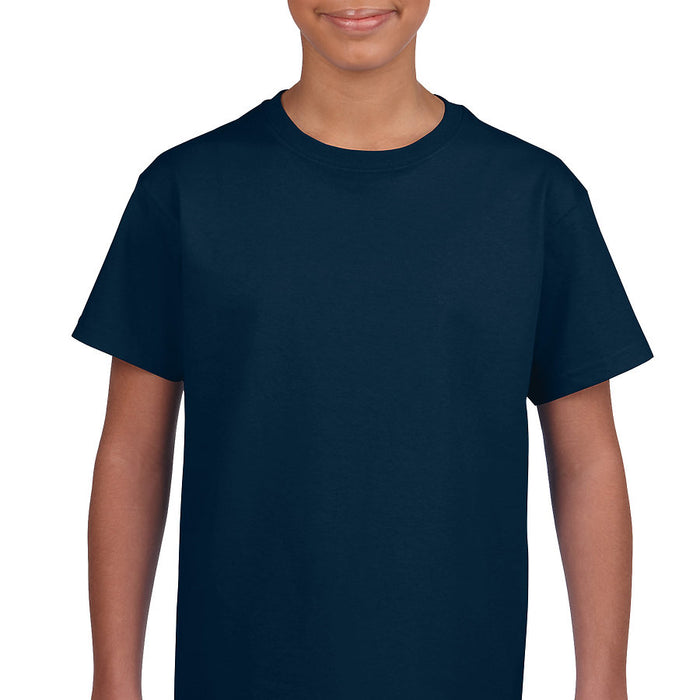 Product image of Navy Gildan 2000B - Youth Ultra Cotton® T-Shirt