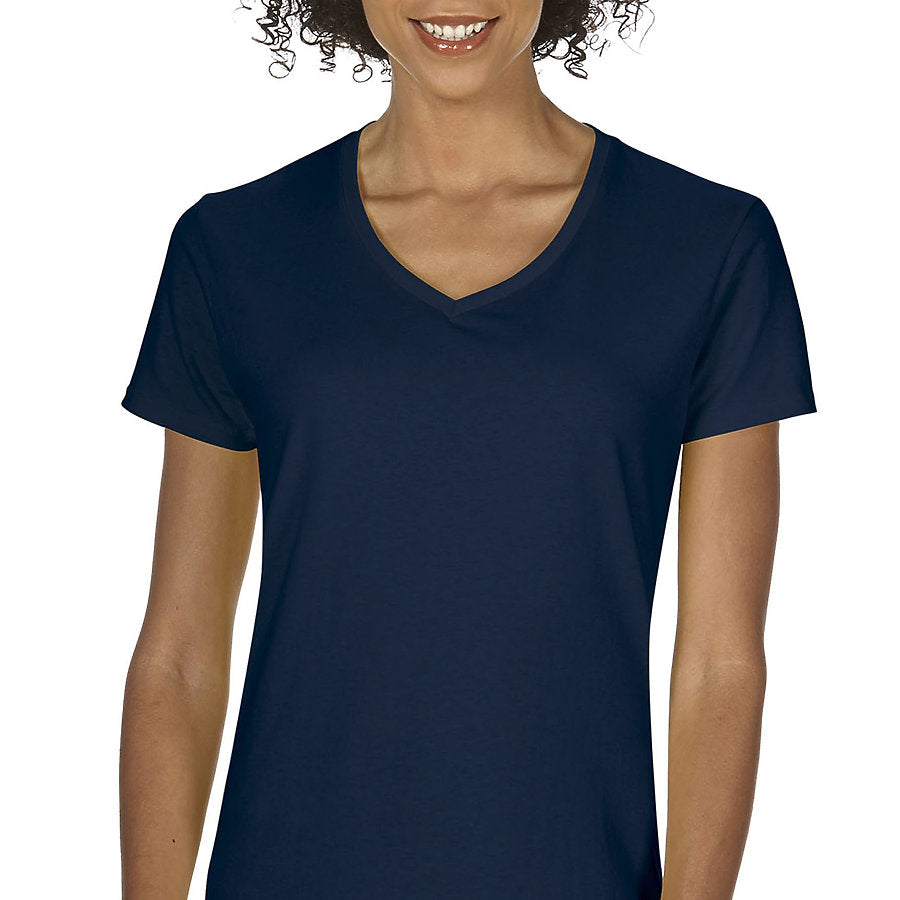 Product image of Navy Gildan 5V00L - Ladies' V-Neck