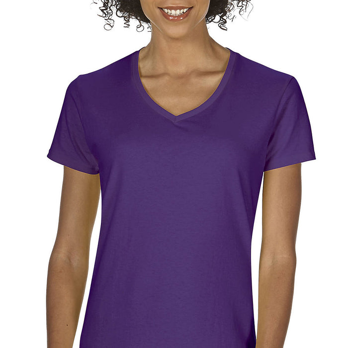 Product image of Purple Gildan 5V00L - Ladies' V-Neck