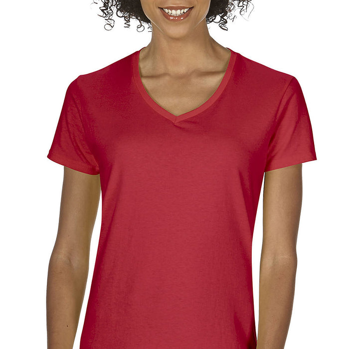 Product image of Red Gildan 5V00L - Ladies' V-Neck