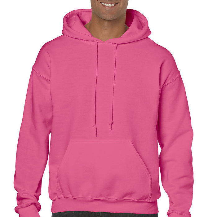 Product image of Safety Pink Gildan 18500 - Adult Hooded Sweatshirt