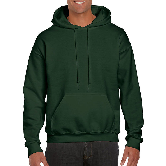 Product image of Forest Green Gildan 12500 - DryBlend Adult Hooded Sweatshirt
