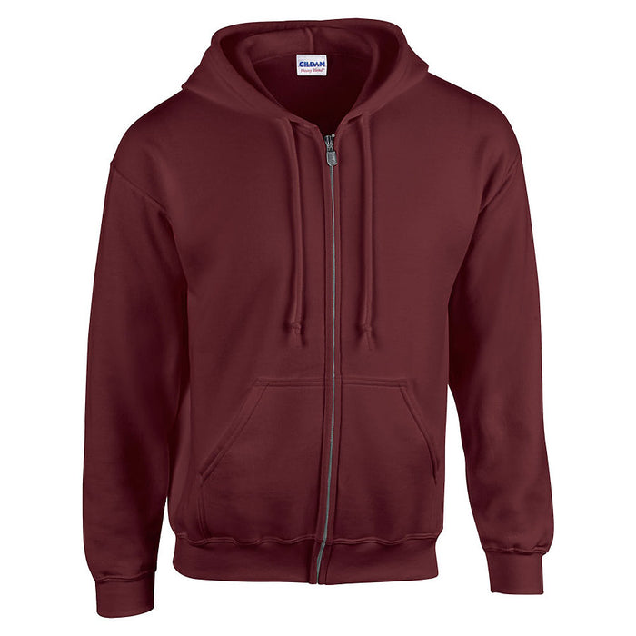 Product image of Maroon Gildan 18600 - Heavy Blend Adult Full Zip Hooded Sweatshirt