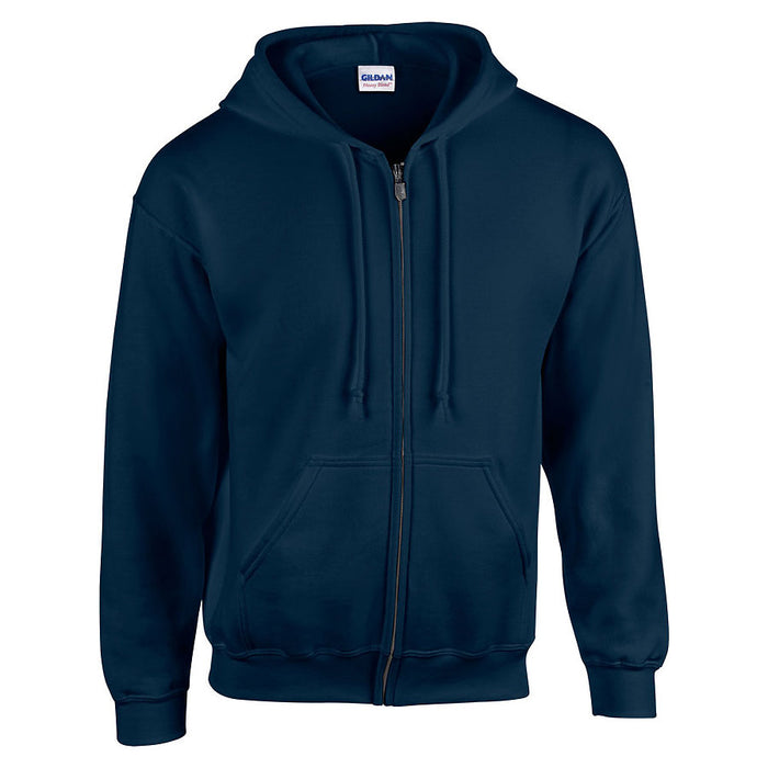 Product image of Navy Gildan 18600 - Heavy Blend Adult Full Zip Hooded Sweatshirt