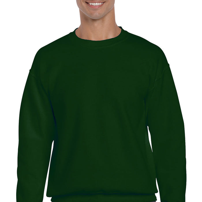 Product image of Forest Green Gildan 12000 - DryBlend Adult Crewneck Sweatshirt
