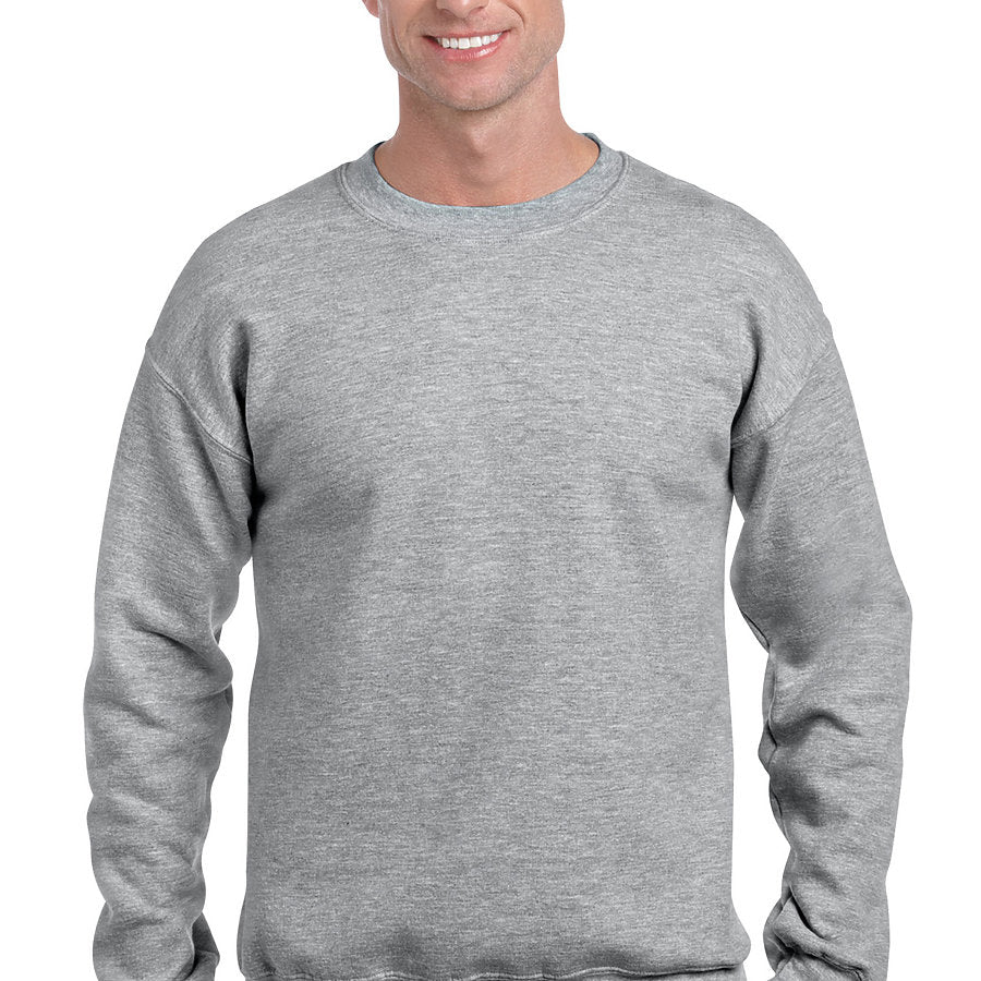 Product image of Sport Grey Gildan 12000 - DryBlend Adult Crewneck Sweatshirt