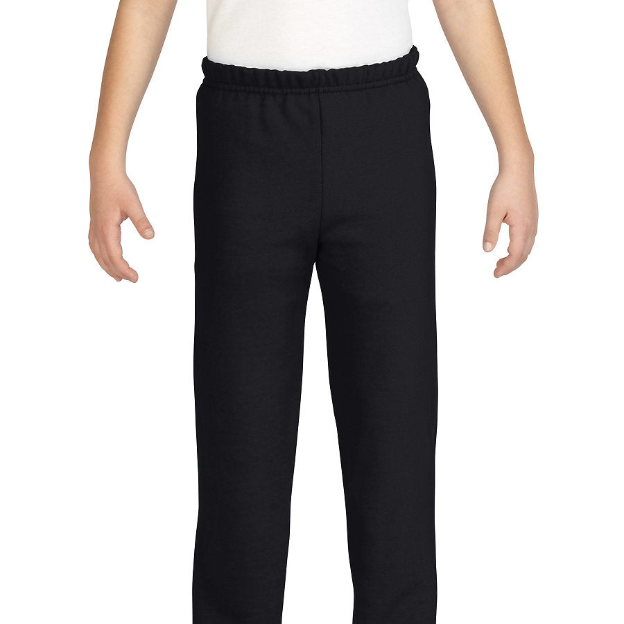 Product image of Black Gildan 18200B - Heavy Blend Youth Sweatpants