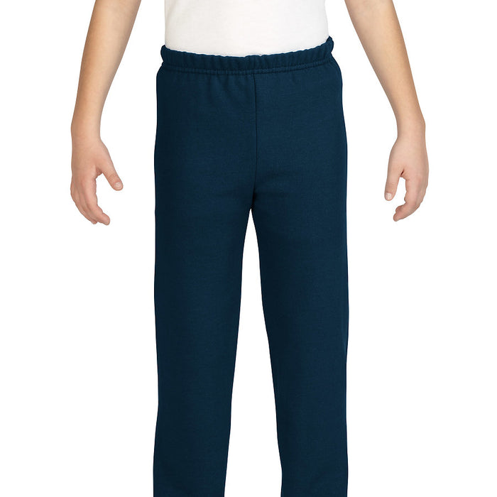 Product image of Navy Gildan 18200B - Heavy Blend Youth Sweatpants