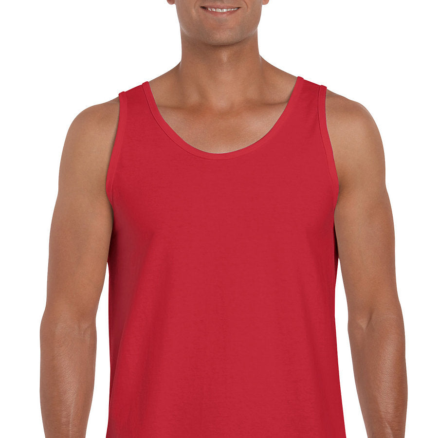 Product image of Red Gildan 2200 - Ultra Cotton Adult Tank Top