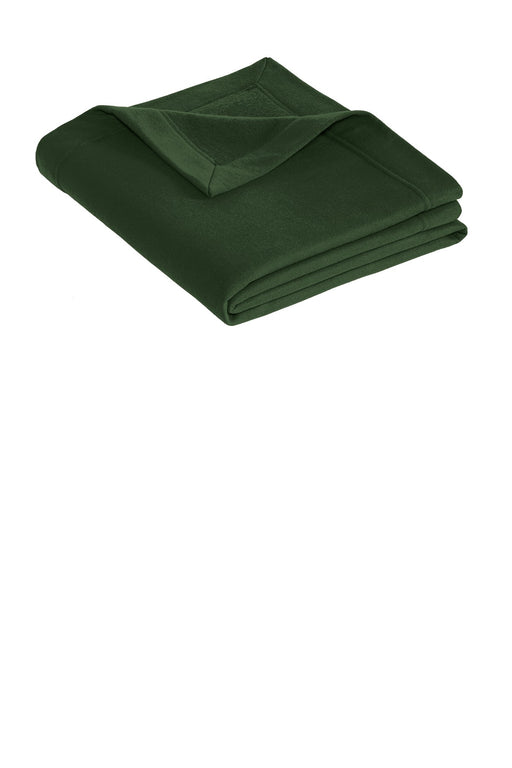 Gildan® DryBlend® Stadium Blanket. 12900 (Forest Green)