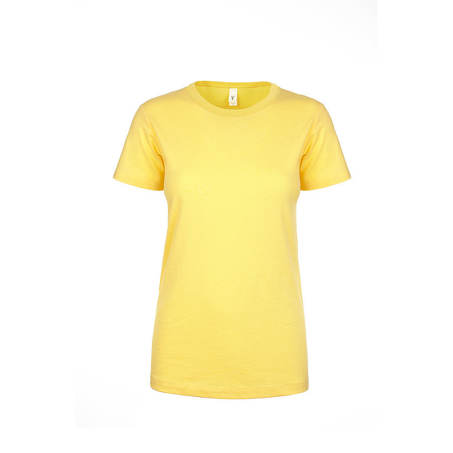Product image of Banana Cream Next Level Apparel 1510 - Ladies Ideal Tee