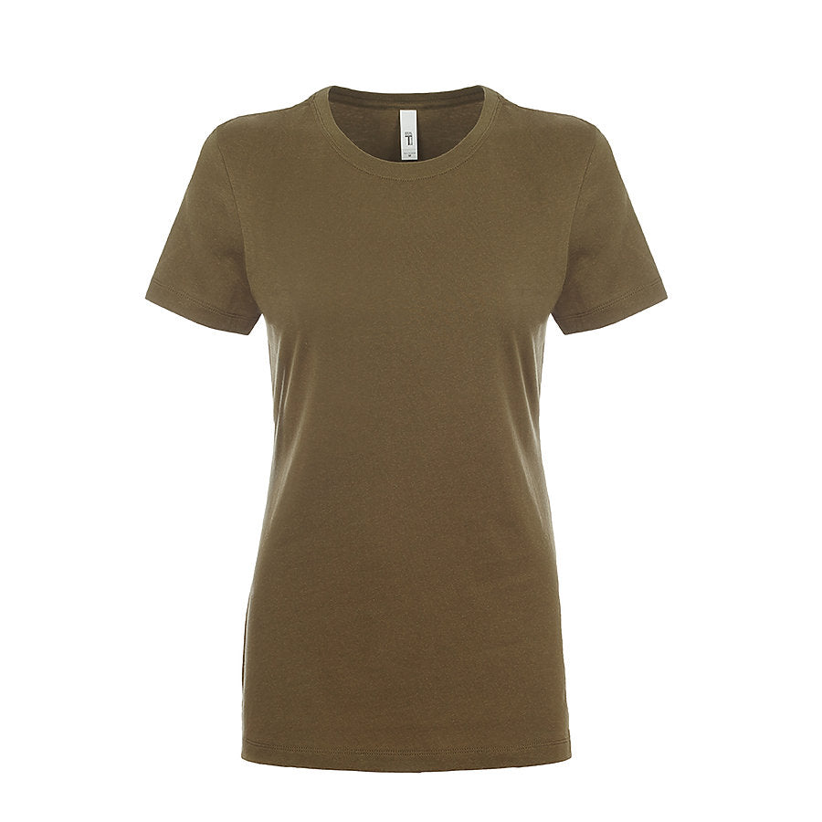 Product image of Military Green Next Level Apparel 1510 - Ladies Ideal Tee