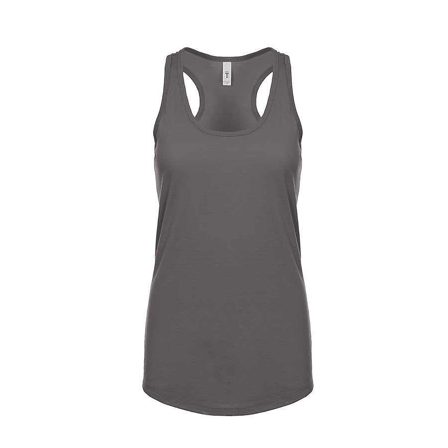 Product image of Dark Gray Next Level Apparel 1533 - Ideal Racerback Tank