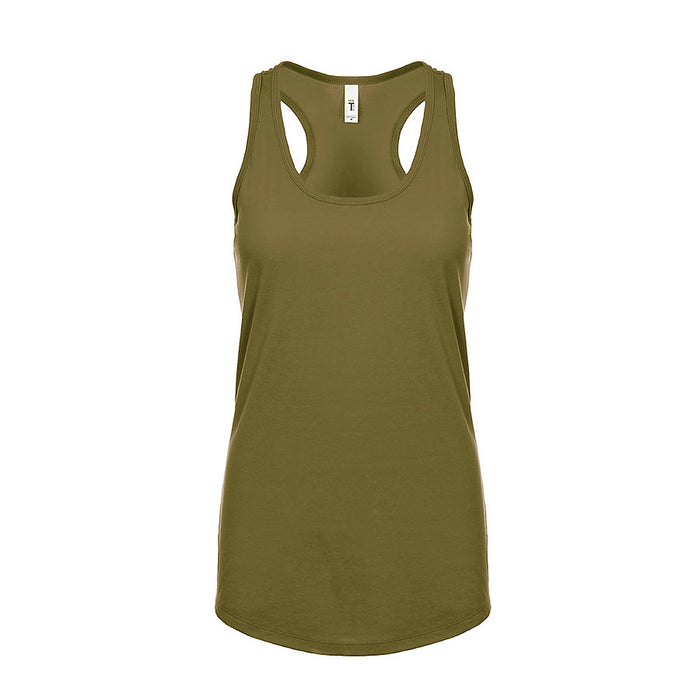 Product image of Military Green Next Level Apparel 1533 - Ideal Racerback Tank