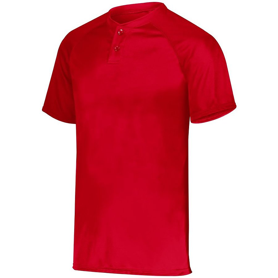 Product image of RED Augusta 1566 - YOUTH ATTAIN 2-BUTTON JERSEY