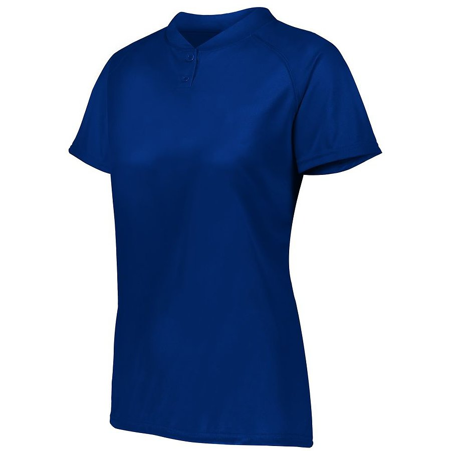 Product image of NAVY Augusta 1567 - LADIES ATTAIN 2-BUTTON JERSEY