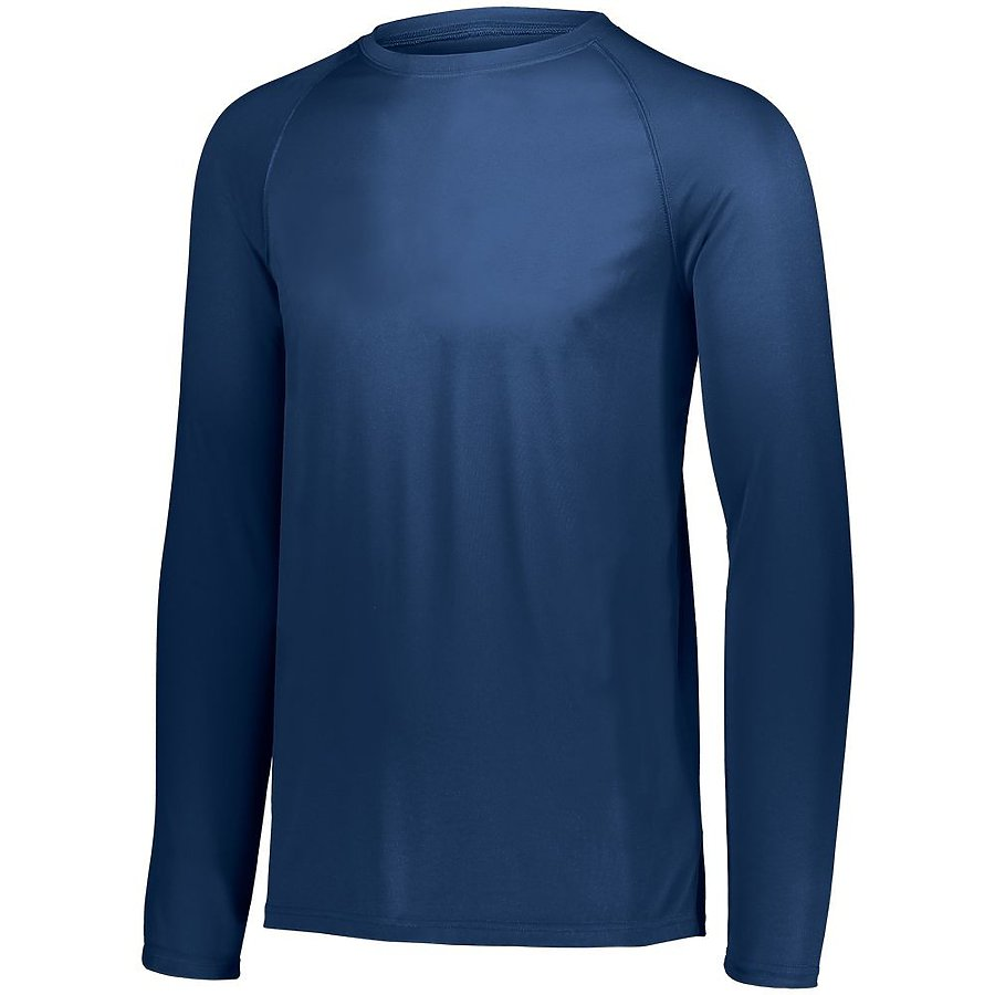 Product image of NAVY Augusta 2796 - YOUTH ATTAIN WICKING LS SHIRT